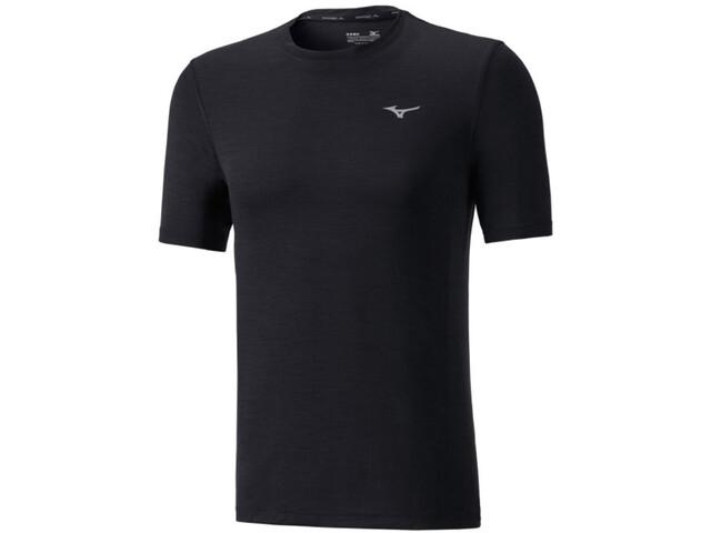 Mizuno Impulse Core Koszulka do biegania z krótkim rękawem Mężczyźni czarny